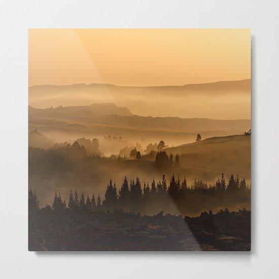Land ESCAPE Metal Print