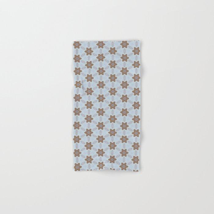 Flower Abstract Hand & Bath Towel