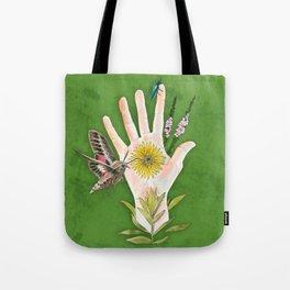 Prairie Hand 2 (Green) Tote Bag