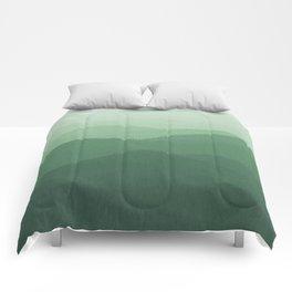Hunter Mountain summer Comforters