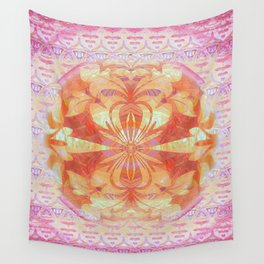 Peaceful Portal Feng Shui Mandala Wall Tapestry