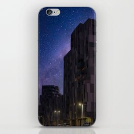Starry night in Bologna Photography iPhone Skin