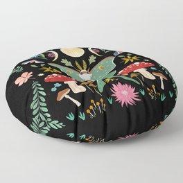 September moon Floor Pillow
