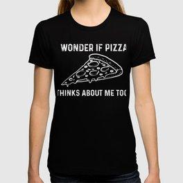 Funny Pizza Slice Italian Food Truck Fast Lover Gift T-shirt