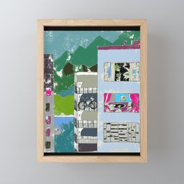 Downtown Living Framed Mini Art Print