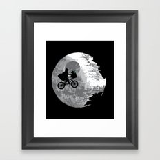 Yoda Phone Home Framed Art Print