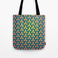 Pinwheel pattern Tote Bag