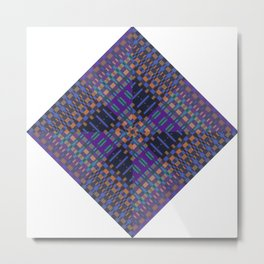 geometric ensemble Metal Print