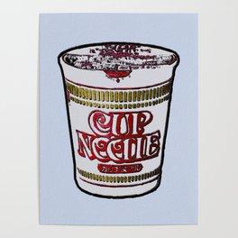 Ramen Noodles Pop art Poster