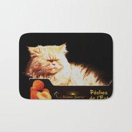 Peachy Kitty Bath Mat