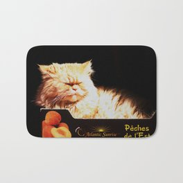 Peachy Kitty Bath Mat