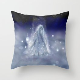 Keeper of the Wisps Throw Pillow