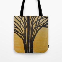 Tree of Life at Sunset Tote Bag