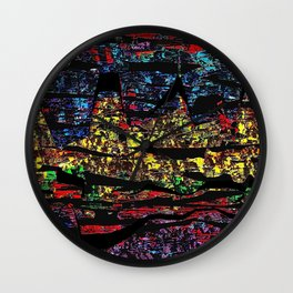 Mouthful Of Sin Wall Clock