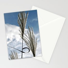 GRASSES in AUTUMN WIND Stationery Cards