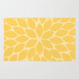 Sunshine Chrysanthemum Rug