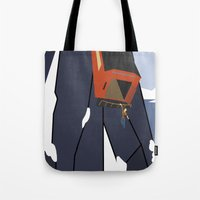 uncharted Tote Bags featuring Uncharted 2: Among Thieves  by Chandler Payne