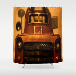 Lost Cars Three Shower Curtain