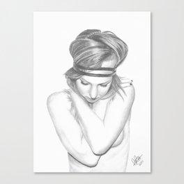 Self Embrace Canvas Print
