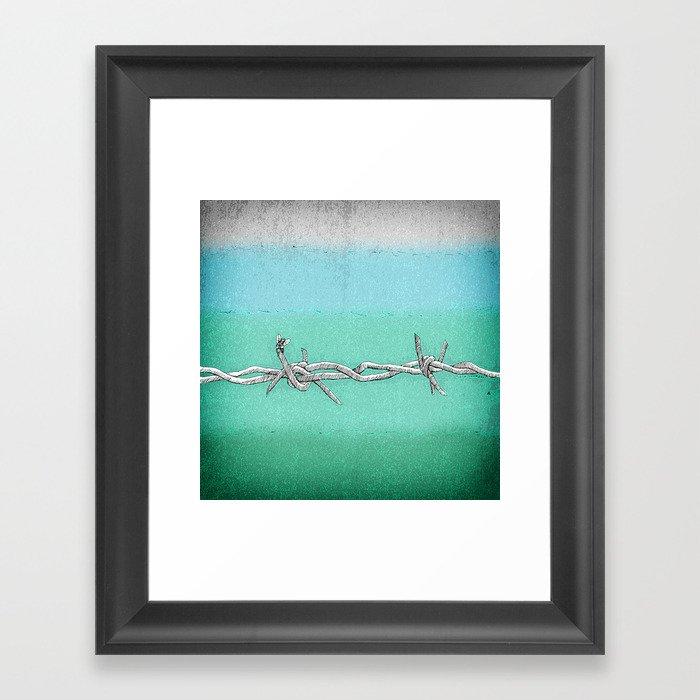 The Hitchhiker Framed Art Print
