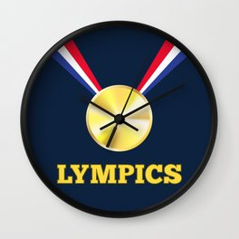 Lympics Wall Clock