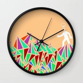 """""""Bright Idea"""" Wall Clock"""