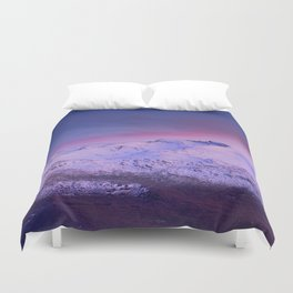 Sierra Nevada mountains. More than 3000 meters hight Duvet Cover