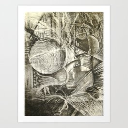 Abstract Parallels Art Print
