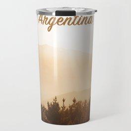 Reloj Argentina clock Travel Mug