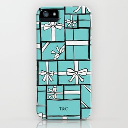 A lot of Mint Green Gifts iPhone Case