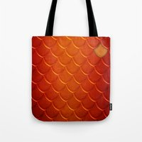 smaug Tote Bags featuring Smaug by sevillaseas