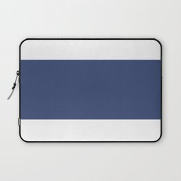 Blue Stripe Art Laptop Sleeve