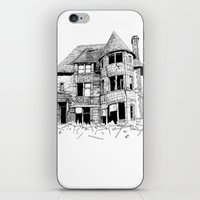 cabin iPhone & iPod Skins featuring cabin fever by PAFF