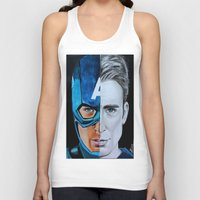 steve rogers Tank Tops featuring Steve Rogers by Goolpia