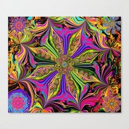 L.A. Flower Drop Canvas Print