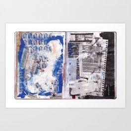 Letter to Paris Art Print