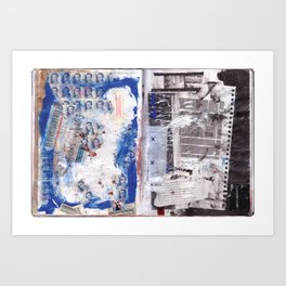 Letter to Paris Art Print