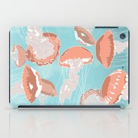 jellyfish iPad Cases featuring Jellyfish by Hypathie Aswang