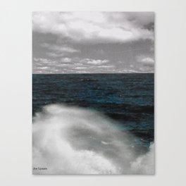Wave break 2. Canvas Print