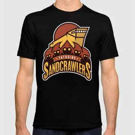 Tatooine SandCrawlers - Gold T-shirt