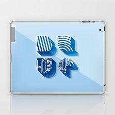 Blue Laptop & iPad Skin