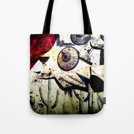 WINE&APOCALISSE by ZZGALM Tote Bag