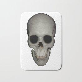 Human Skull Vector Isolated Bath Mat