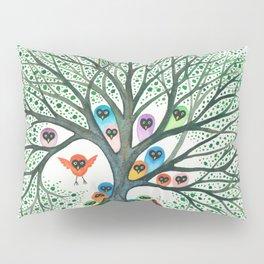 Teton Owls in Tree Pillow Sham