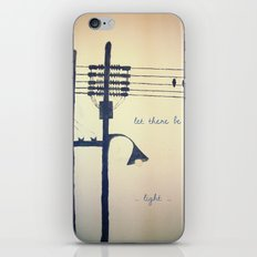Let there be light... iPhone & iPod Skin