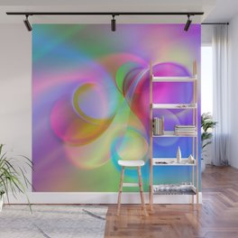 color whirl -21- Wall Mural