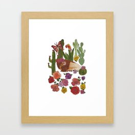 Buffalo Cacti Framed Art Print