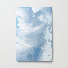 Blue Pearl I Metal Print