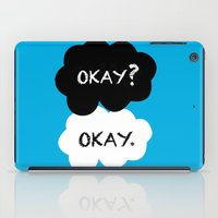 okay iPad Cases featuring Okay by Hoeroine