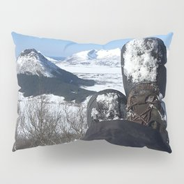 Point of view Snowy Mountains Pillow Sham